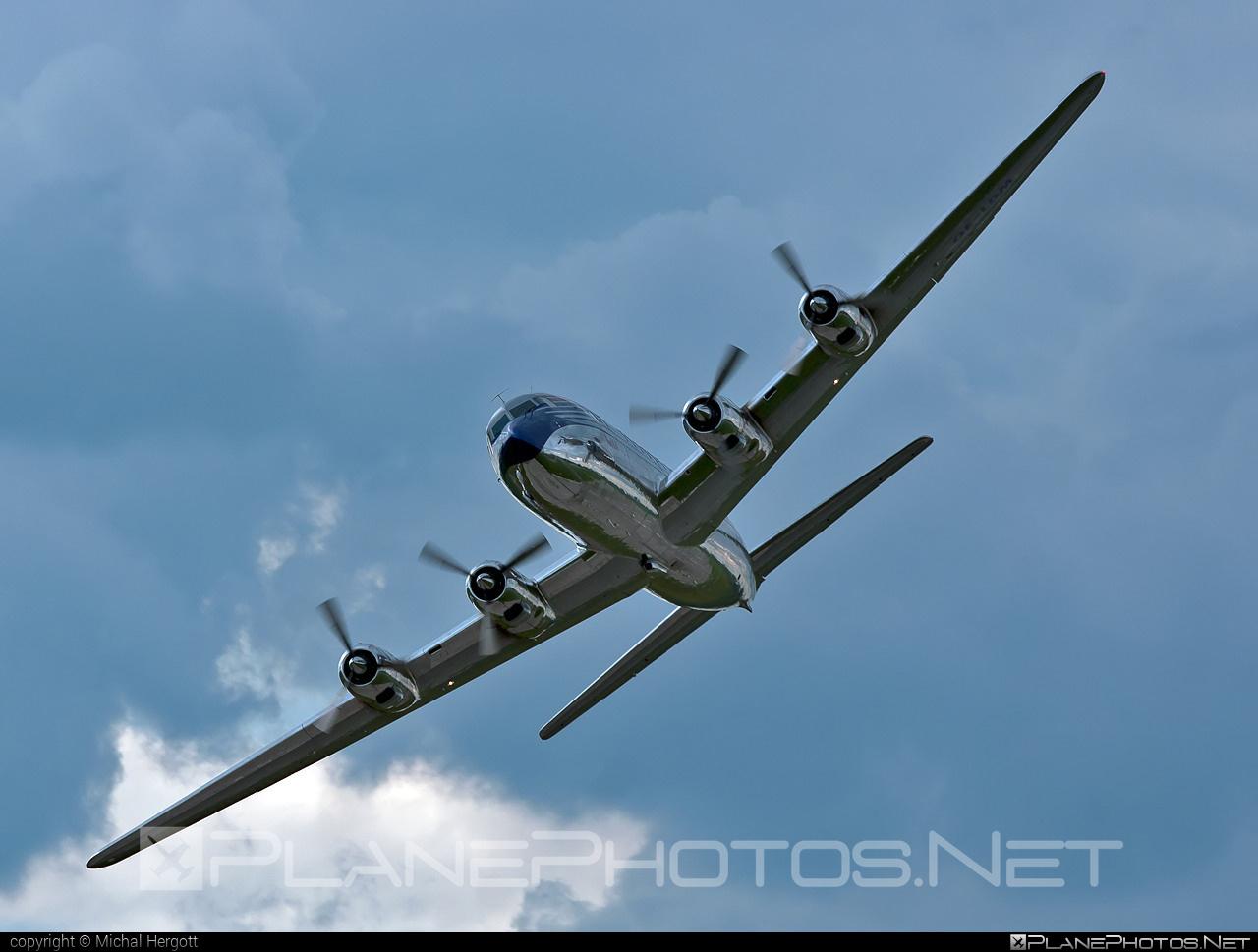 Douglas DC-6B - OE-LDM operated by The Flying Bulls #douglas #theflyingbulls