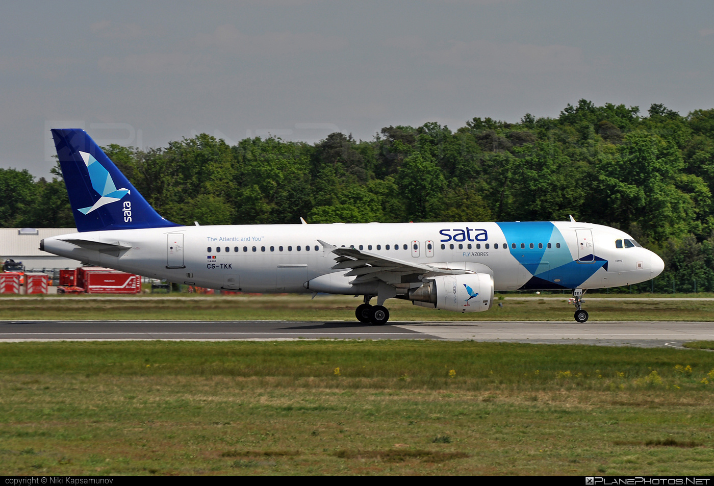 Airbus A320-214 - CS-TKK operated by SATA International #a320 #a320family #airbus #airbus320