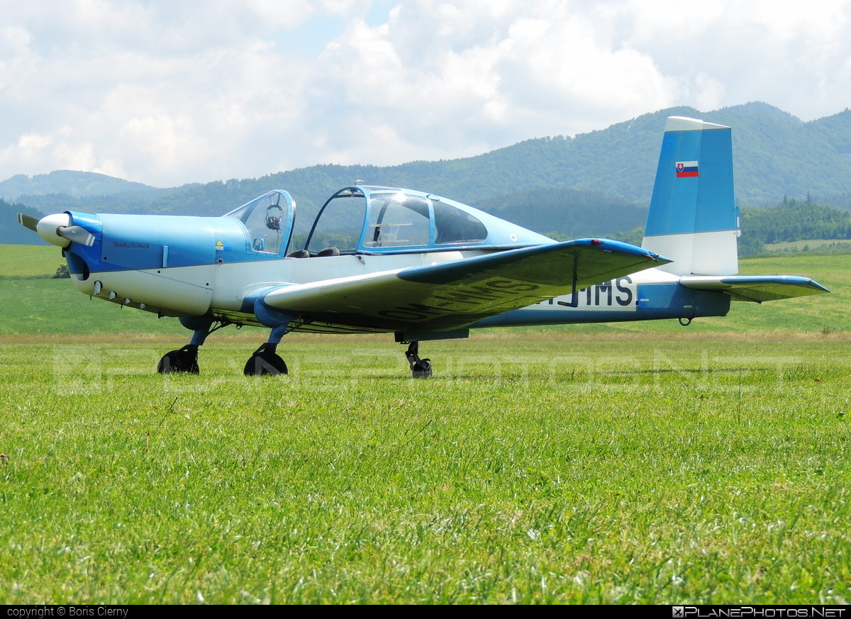 Orličan L-40 Meta Sokol - OM-MMS operated by Private operator #orlican