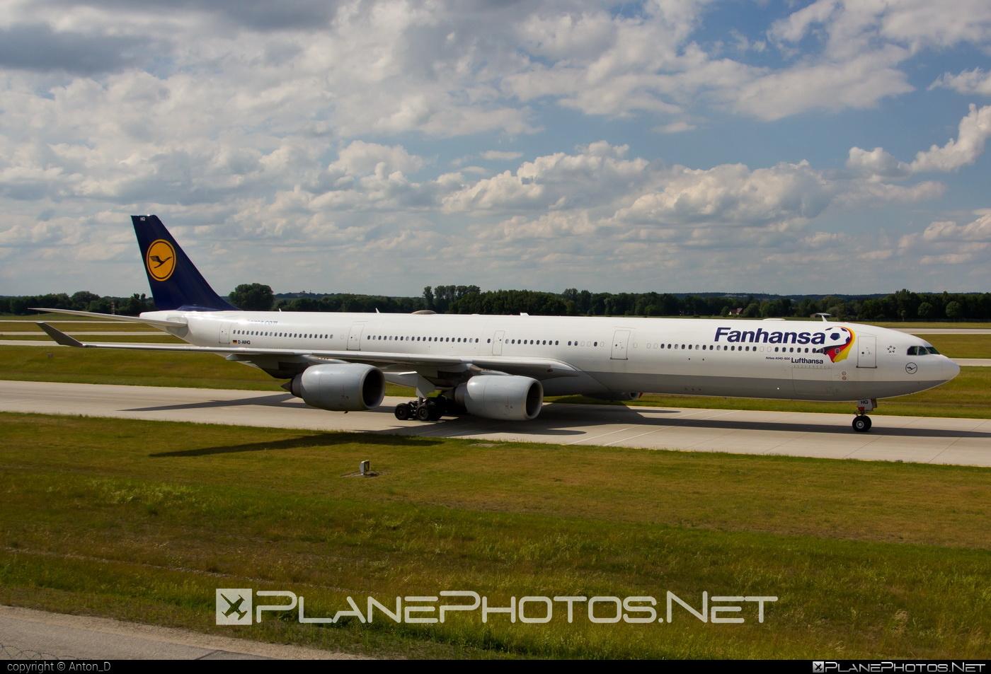 Airbus A340-642 - D-AIHQ operated by Lufthansa #a340 #a340family #airbus #airbus340 #lufthansa