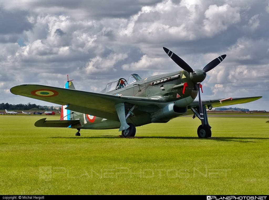 Morane Saulnier D-3801 - HB-RCF operated by Private operator #moranesaulnier