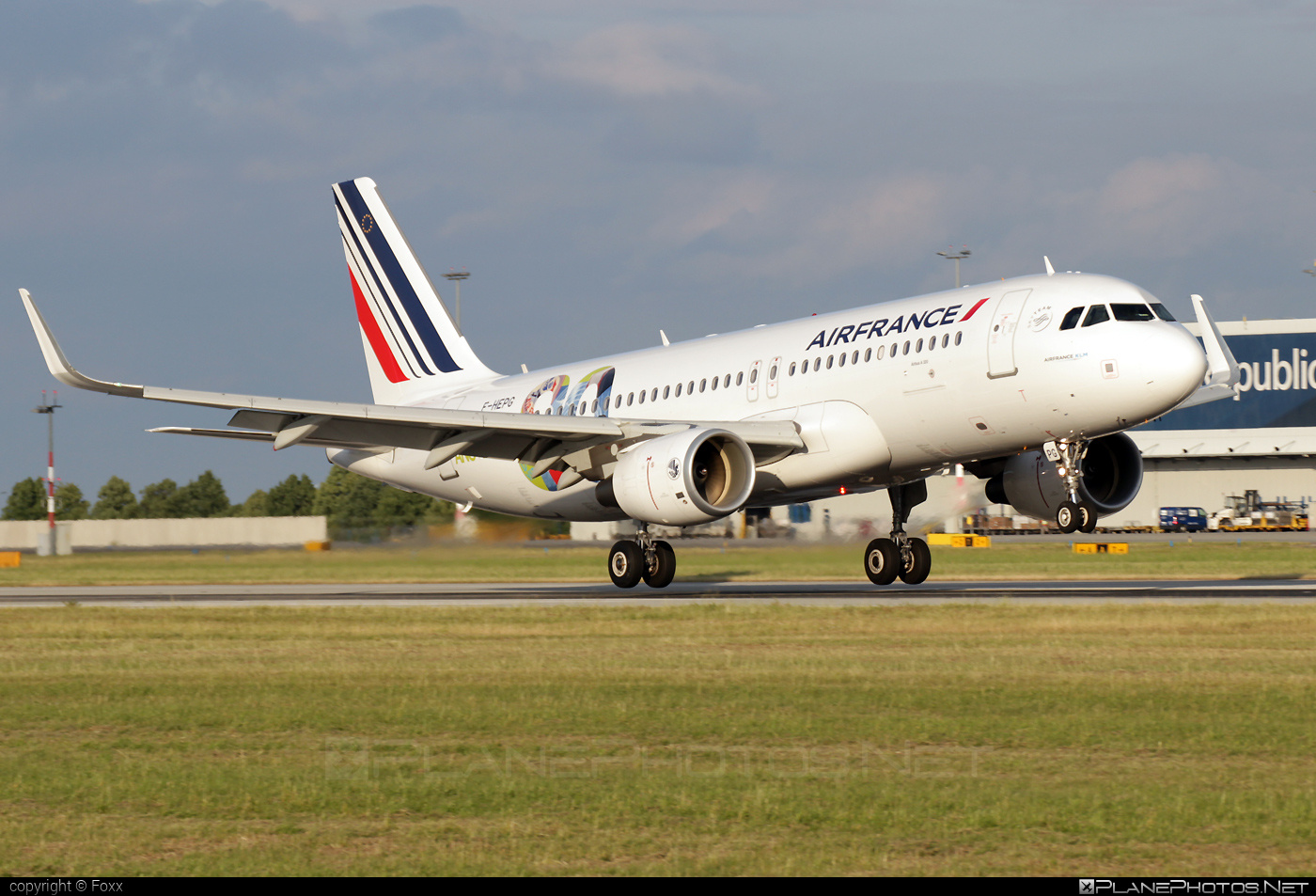 Airbus A320-214 - F-HEPG operated by Air France #a320 #a320family #airbus #airbus320 #airfrance