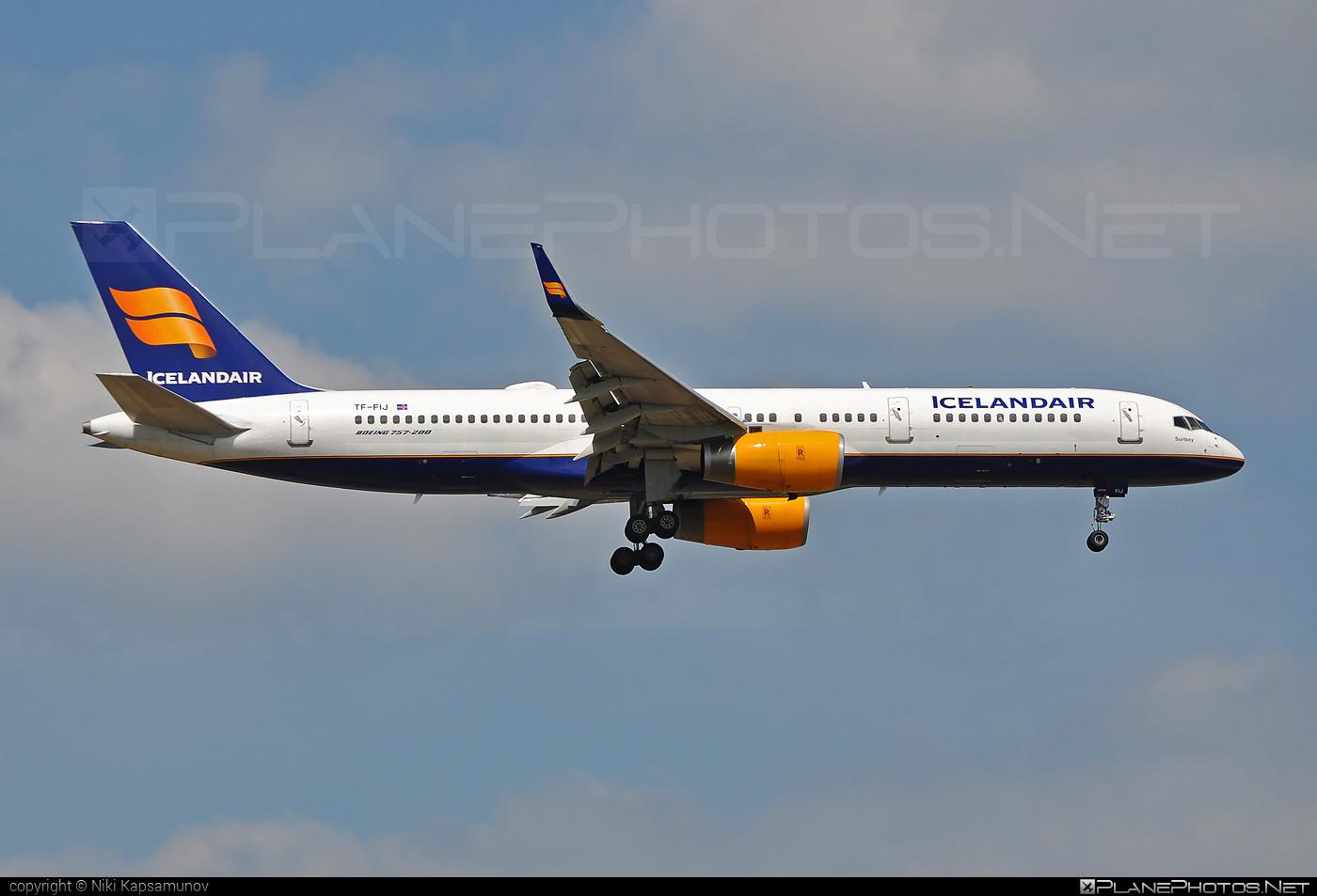 Boeing 757-200 - TF-FIJ operated by Icelandair #b757 #boeing #boeing757 #icelandair
