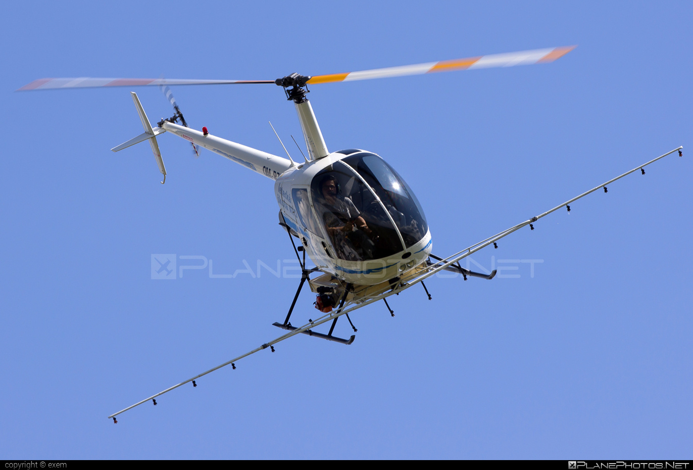 Robinson R22 Beta - OM-RZZ operated by TECH-MONT Helicopter company #robinson