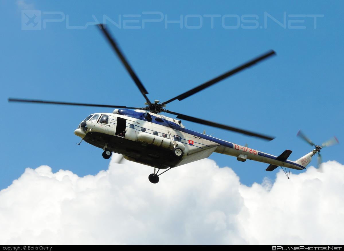Mil Mi-171 - B-1786 operated by Letecký útvar MV SR (Slovak Government Flying Service) #SlovakGovernmentFlyingService #leteckyutvarMVSR #mi171 #mil #mil171 #milhelicopters