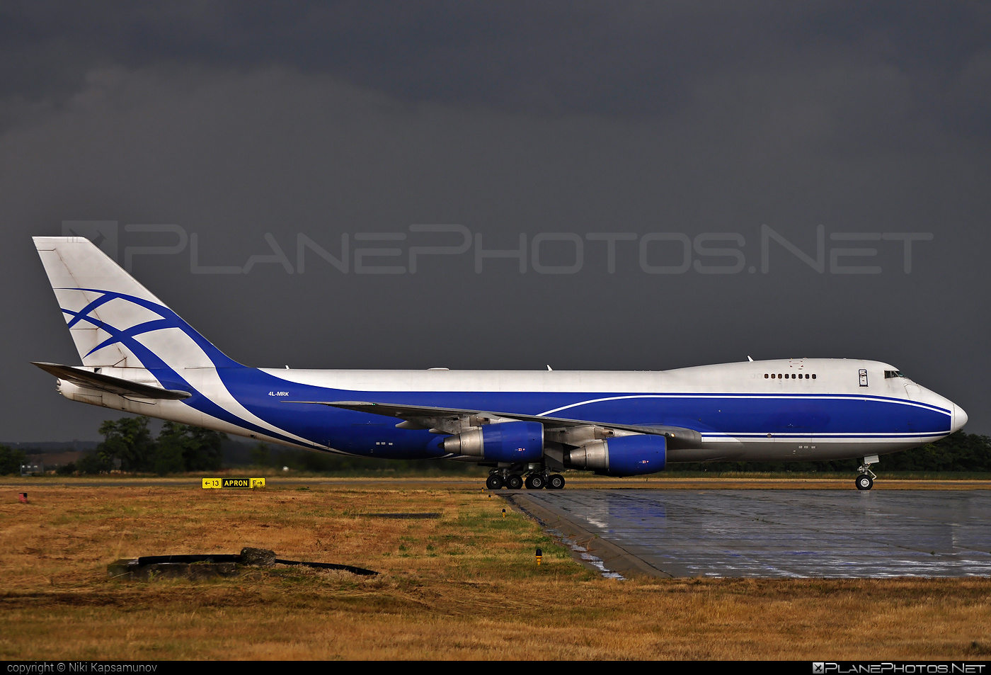 Boeing 747-200F - 4L-MRK operated by The Cargo Airlines #b747 #boeing #boeing747 #jumbo