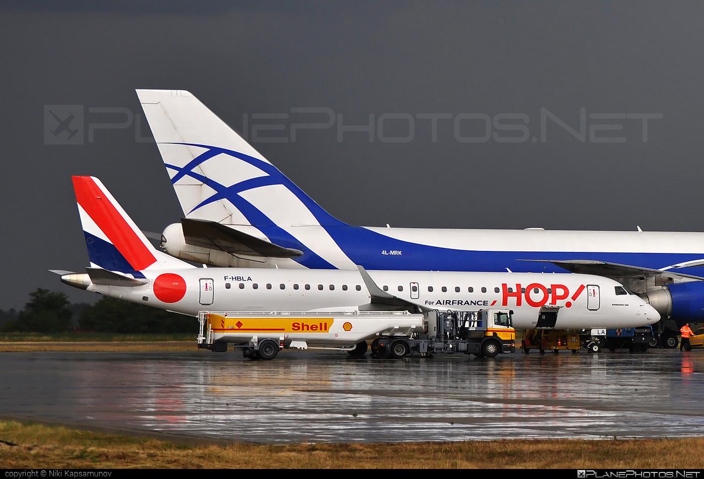 Embraer E190LR (ERJ-190-100LR) - F-HBLA operated by HOP! #e190 #e190100 #e190100lr #e190lr #embraer #embraer190 #embraer190100lr #embraer190lr #hopairlines