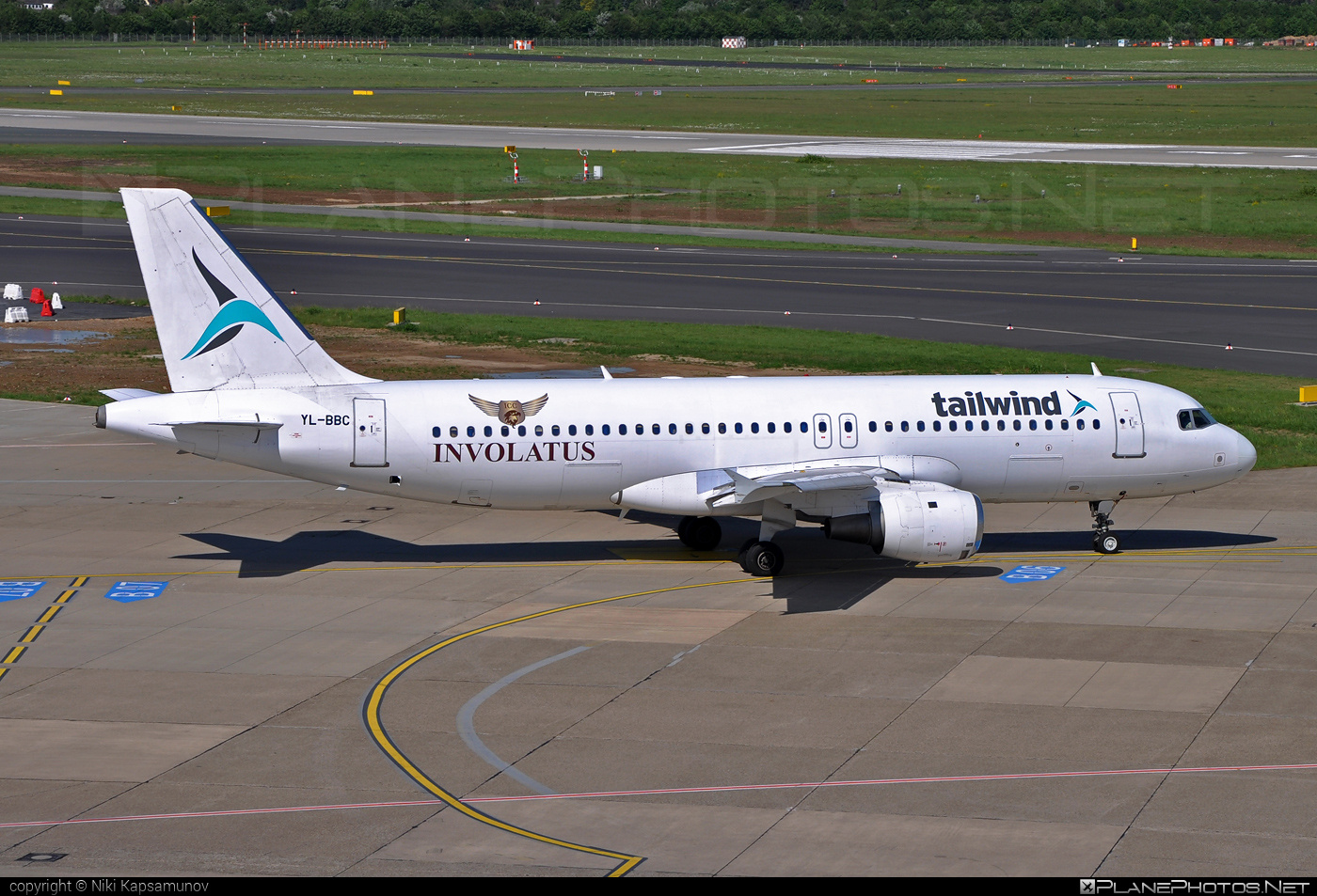 Airbus A320-211 - YL-BBC operated by Tailwind Airlines #a320 #a320family #airbus #airbus320