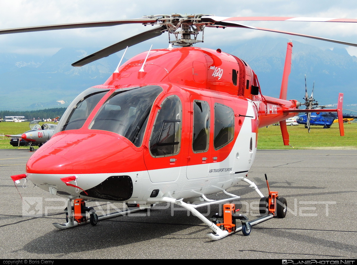 Bell 429 - OM-ATR operated by Air Transport Europe #airtransporteurope #bell #bellhelicopters