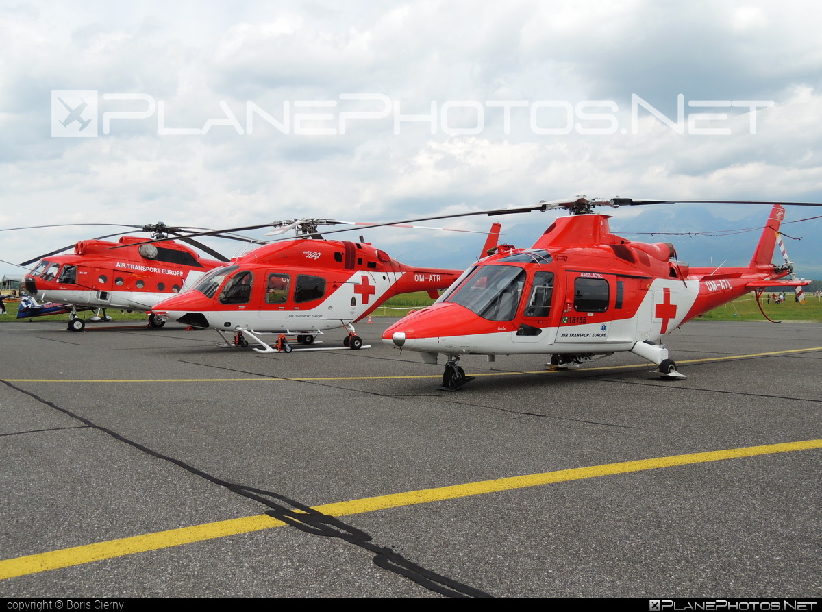 Agusta A109K2 - OM-ATL operated by Air Transport Europe #a109 #a109k2 #agusta #agusta109 #agustaa109 #agustaa109k2 #airtransporteurope