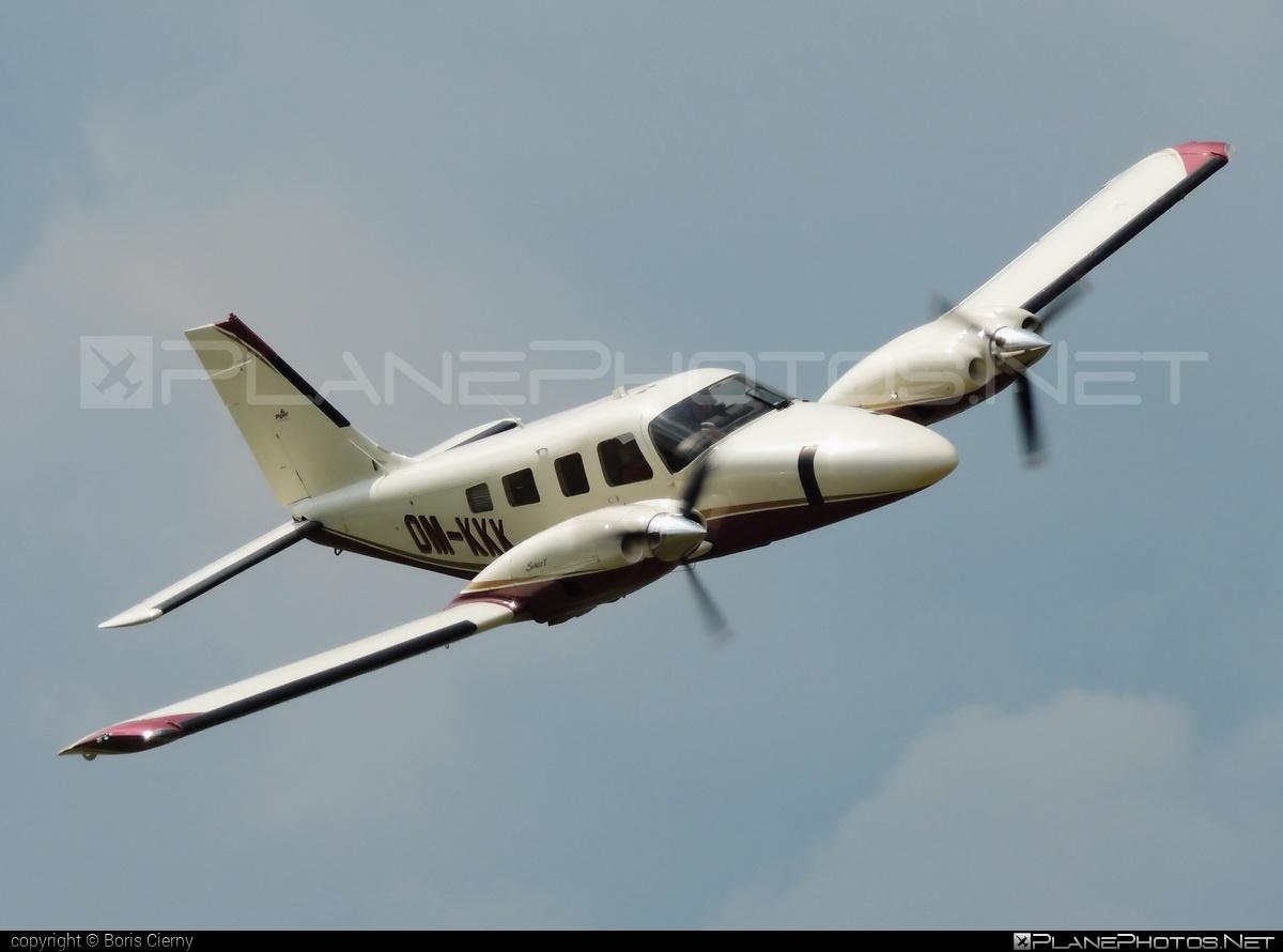 Piper PA-34-220T Seneca V - OM-KKK operated by Private operator #piper