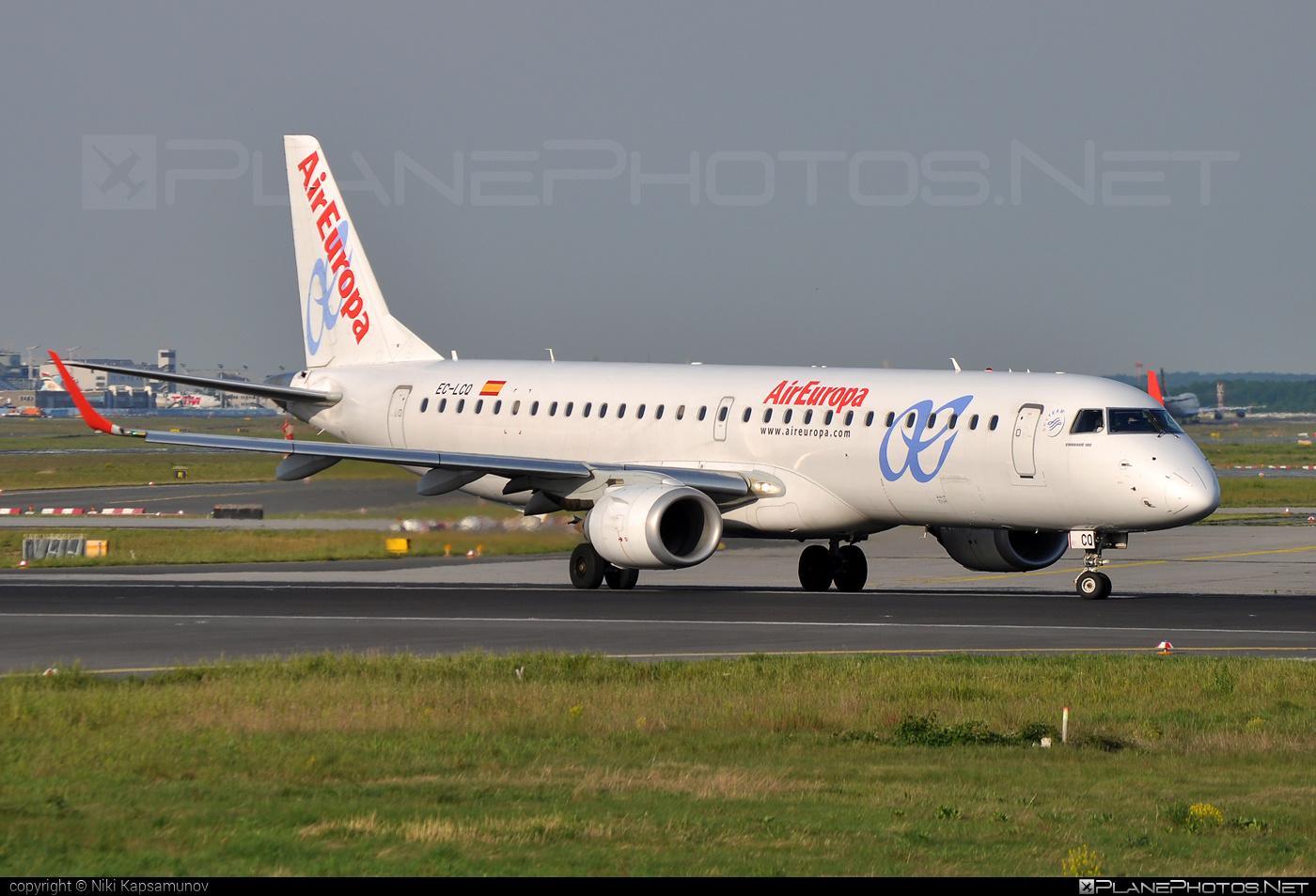 Embraer E195LR (ERJ-190-200LR) - EC-LCQ operated by Air Europa #e190 #e190200 #e190200lr #e195lr #embraer #embraer190200lr #embraer195 #embraer195lr