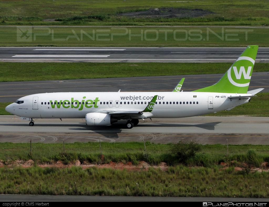 Boeing 737-800 - PR-GTI operated by WebJet Linhas Aéreas #b737 #b737nextgen #b737ng #boeing #boeing737