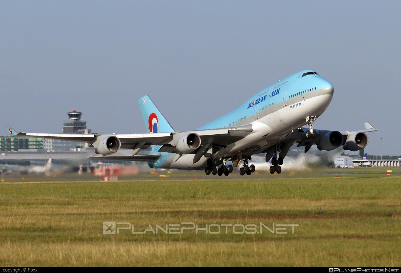 Boeing 747-400 - HL7491 operated by Korean Air #b747 #boeing #boeing747 #jumbo #koreanair