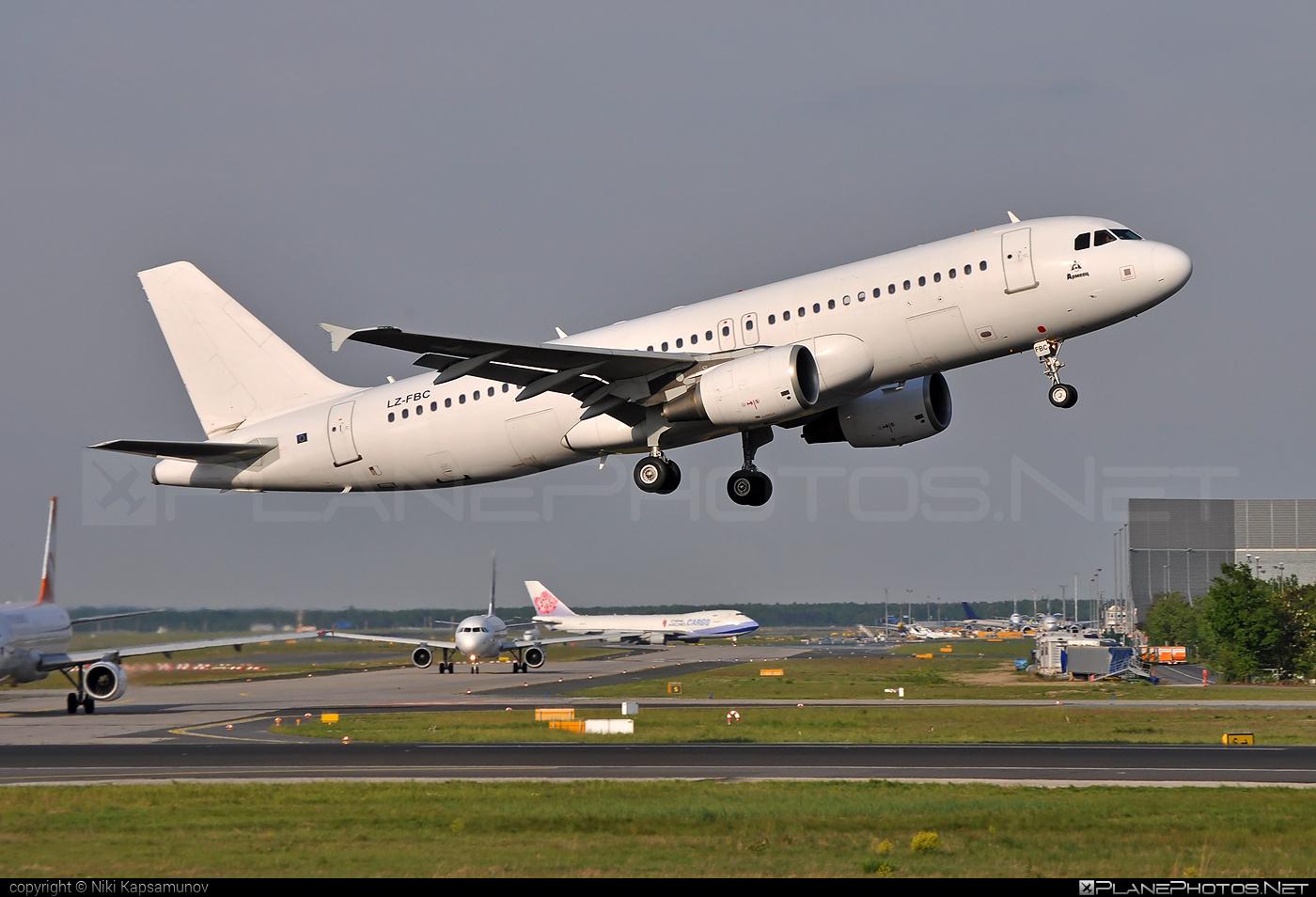 Airbus A320-214 - LZ-FBC operated by Bulgaria Air #a320 #a320family #airbus #airbus320 #bulgariaair
