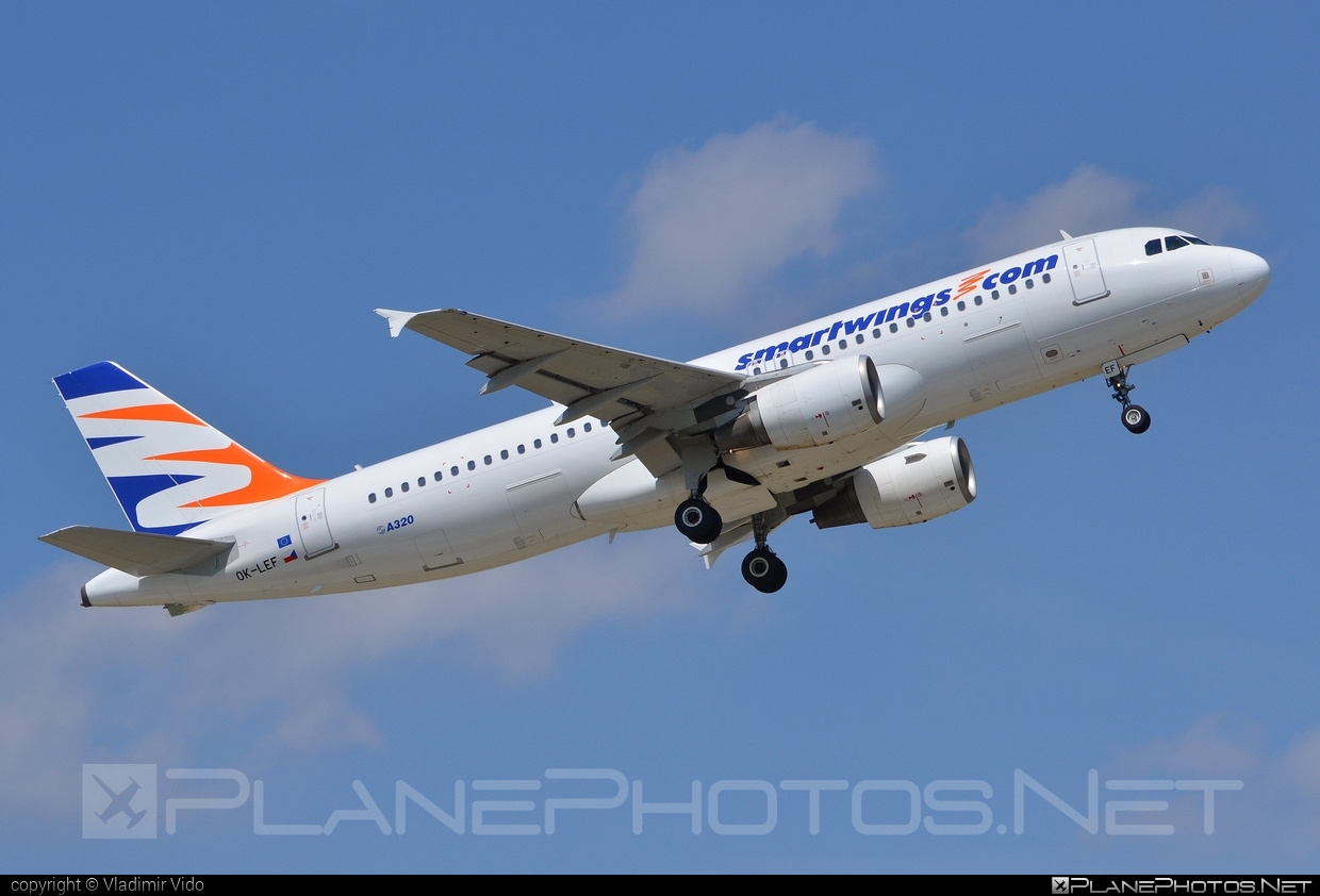 Airbus A320-214 - OK-LEF operated by Smart Wings #a320 #a320family #airbus #airbus320 #smartwings