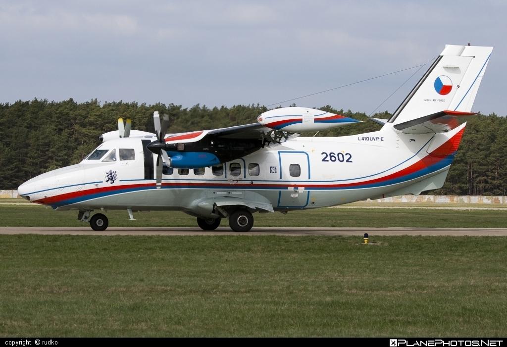 Let L-410UVP-E Turbolet - 2602 operated by Vzdušné síly AČR (Czech Air Force) #L410 #L410Turbolet #L410uvpe #L410uvpeTurbolet #czechairforce #let #turbolet #vzdusnesilyacr