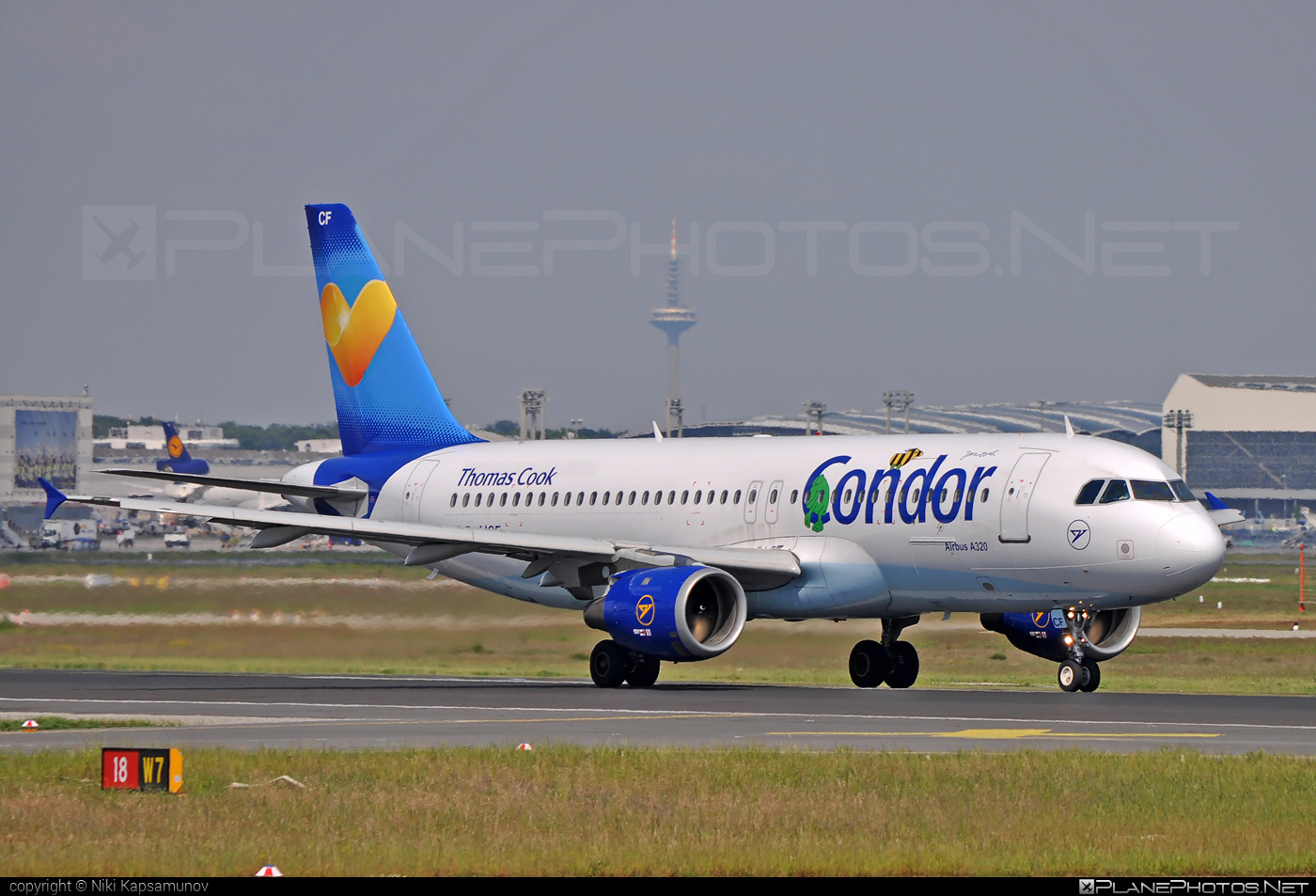 Airbus A320-212 - D-AICF operated by Condor #a320 #a320family #airbus #airbus320