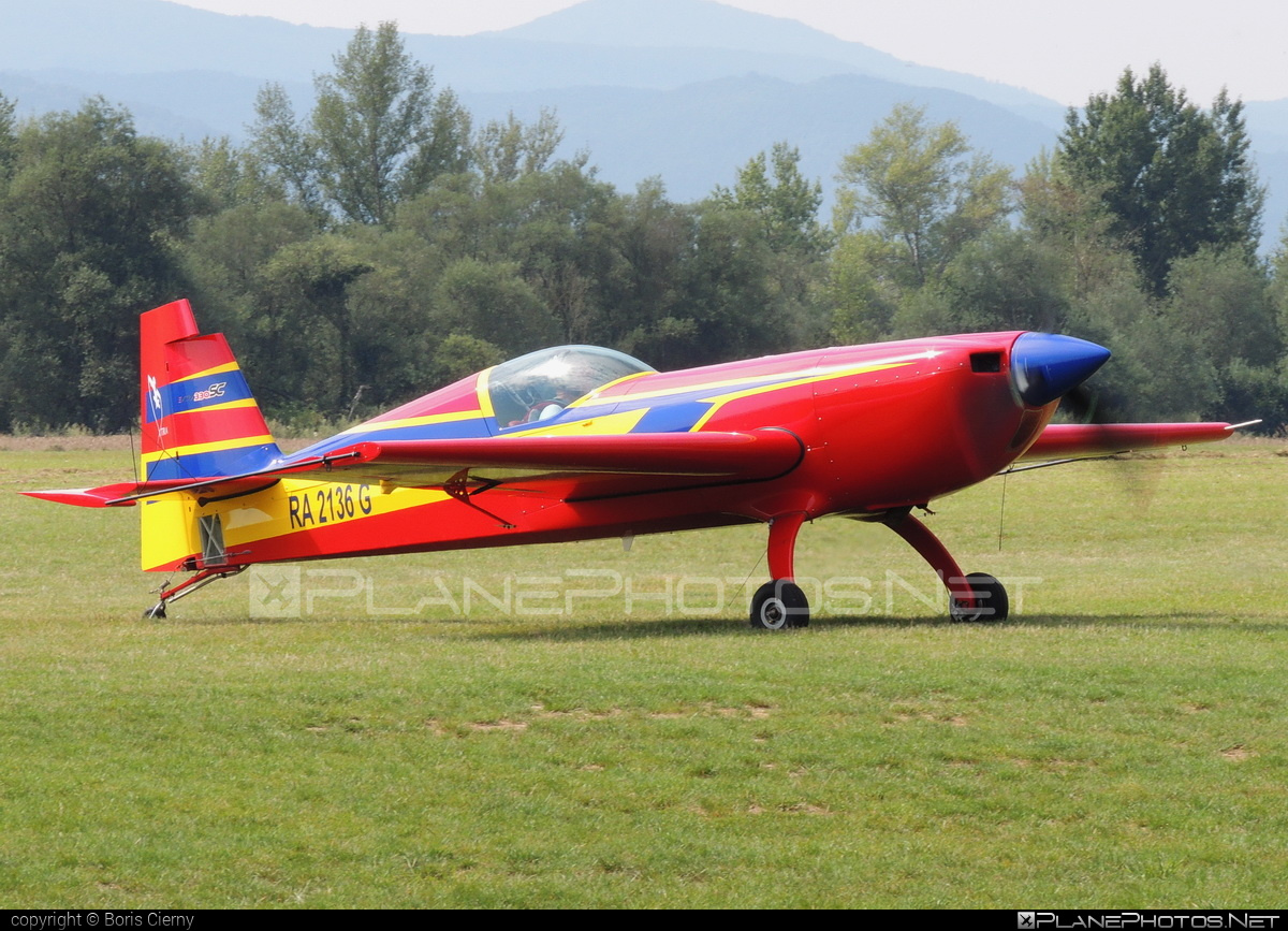 Extra EA-330SC - RA-2136G operated by Private operator #extra330 #extraea330 #extraea330sc