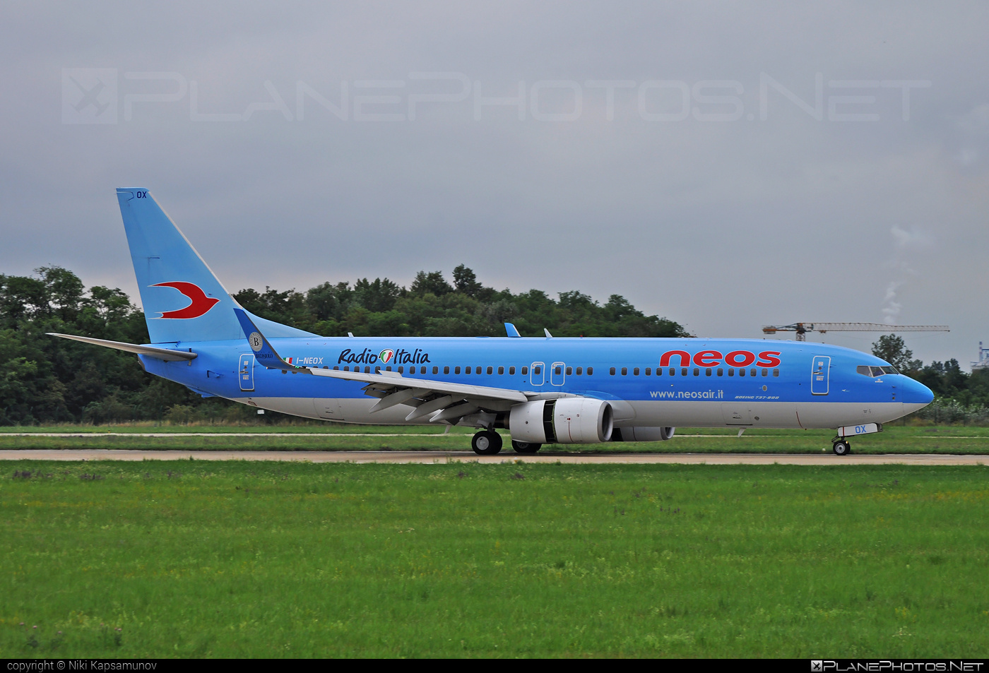Boeing 737-800 - I-NEOX operated by Neos #b737 #b737nextgen #b737ng #boeing #boeing737