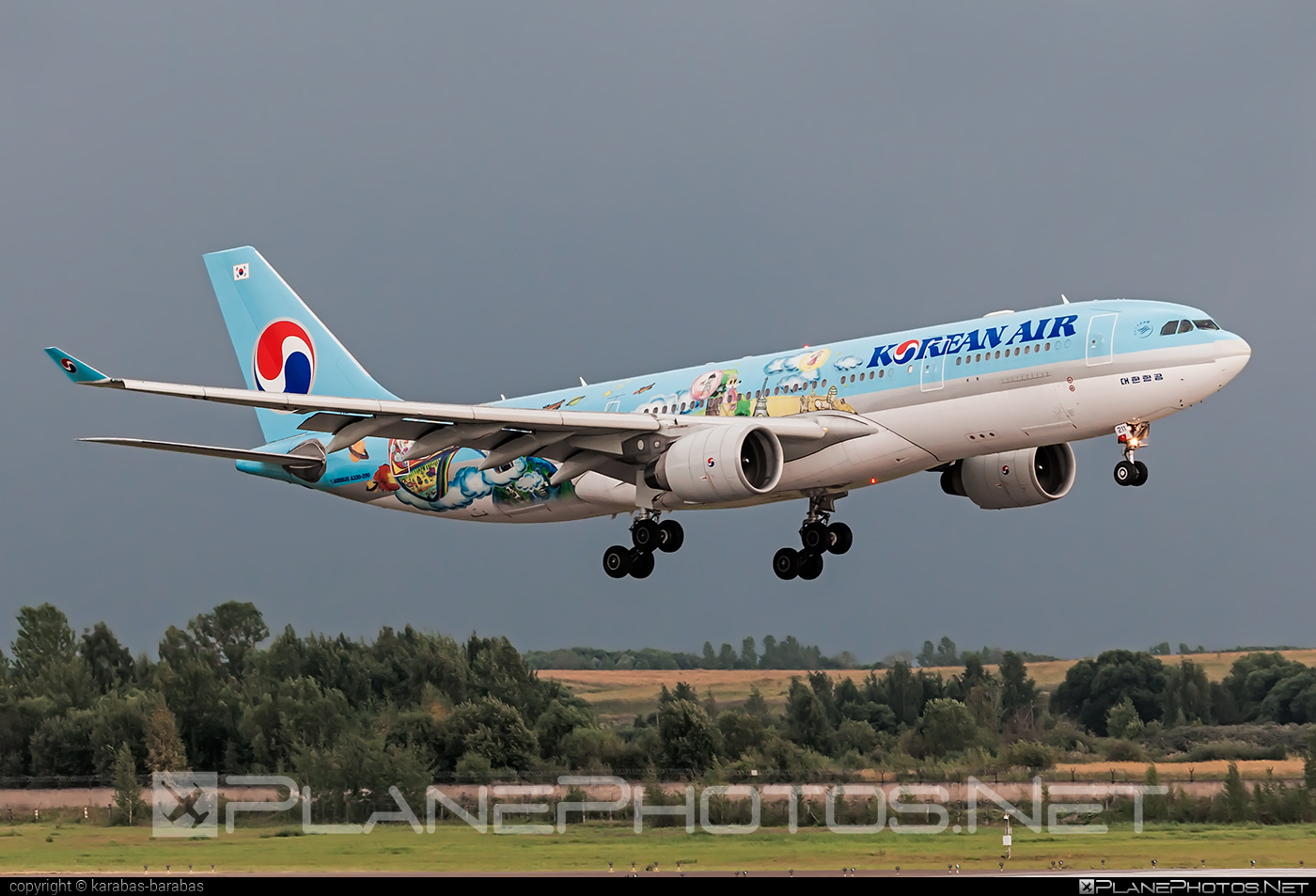 Airbus A330-223 - HL8211 operated by Korean Air #a330 #a330family #airbus #airbus330 #koreanair