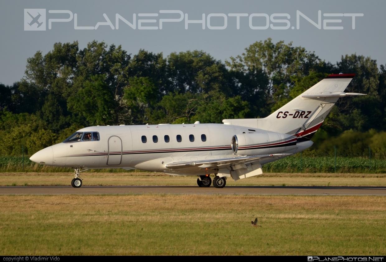 Raytheon Hawker 850XP - CS-DRZ operated by NetJets Europe #raytheon