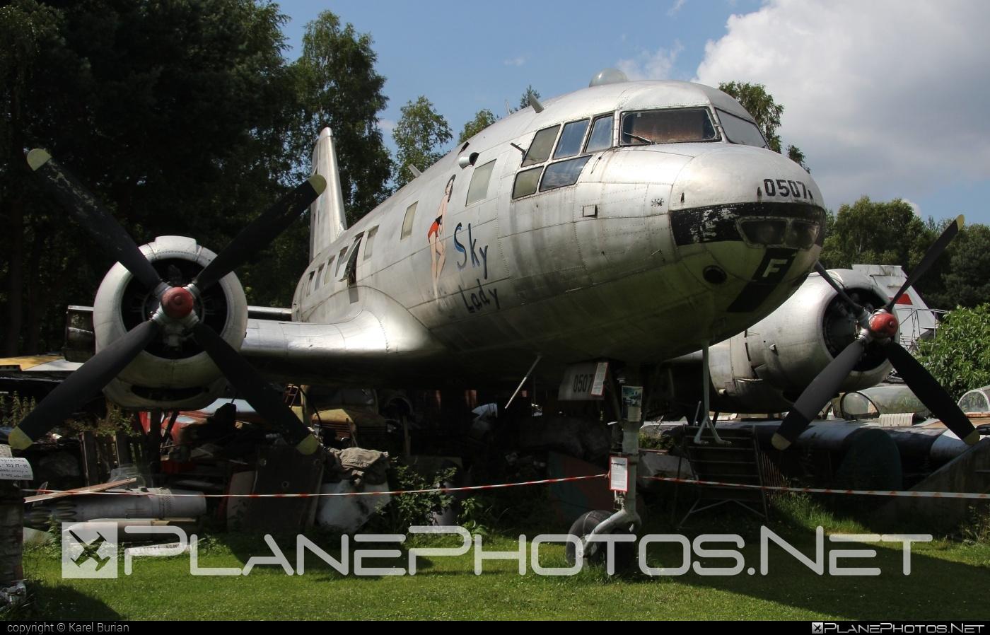 Ilyushin Il-14P - 0507 operated by Letectvo ČSĽA (Czechoslovak Air Force) #il14 #il14p #ilyushin