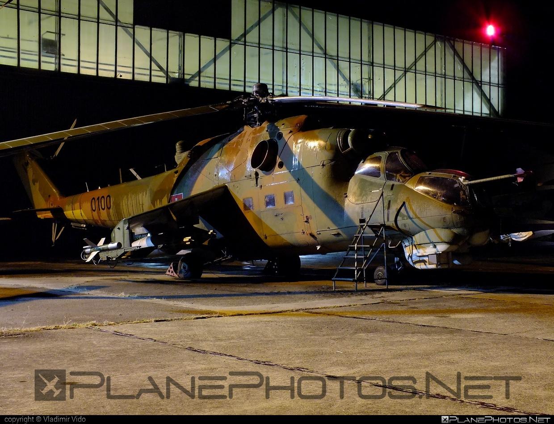 Vzdušné sily OS SR (Slovak Air Force) Mil Mi-24D - 0100 #mi24 #mi24d #mil #mil24 #mil24d #milhelicopters #slovakairforce #vzdusnesilyossr