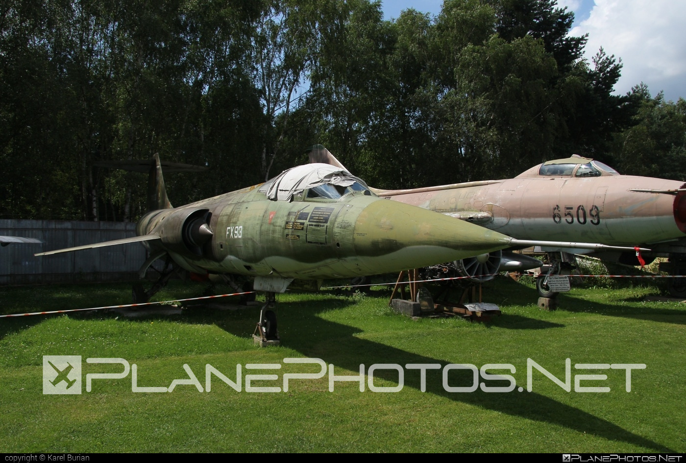 Lockheed F-104G Starfighter - FX93 operated by Belgium - Army #f104 #f104g #f104starfighter #lockheed #starfighter