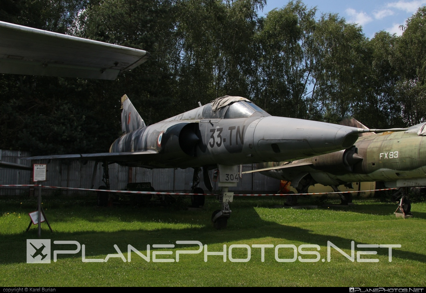 Dassault Mirage IIIR - 33-TN operated by France - Army #dassault