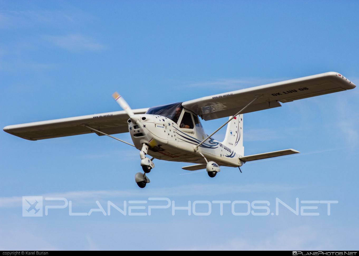 Tecnam P92 Echo Super - OK-LUU 08 operated by Private operator #tecnam