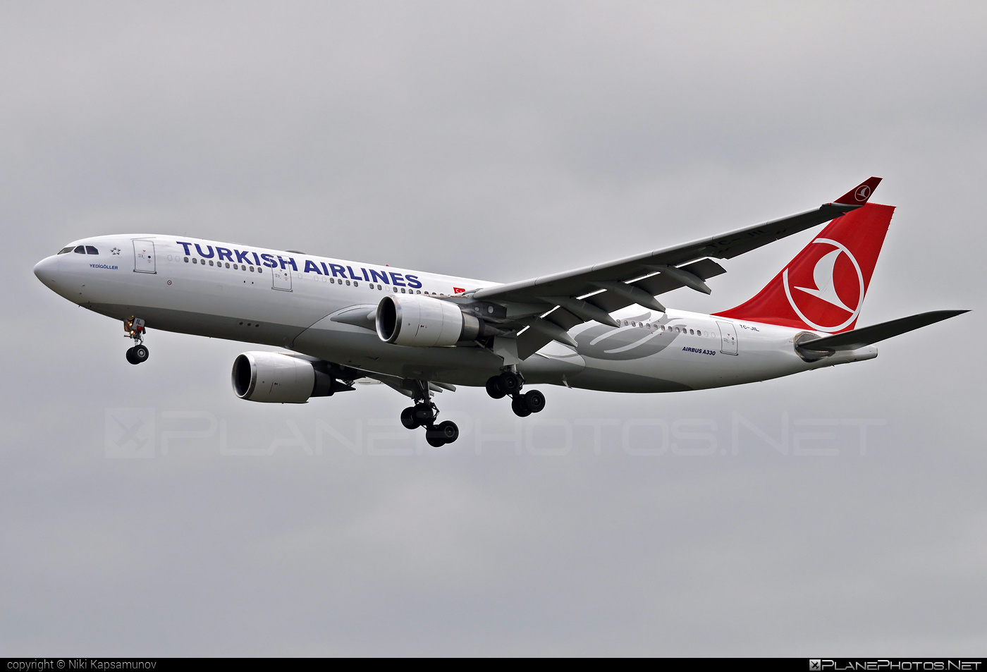 Airbus A330-202 - TC-JIL operated by Turkish Airlines #a330 #a330family #airbus #airbus330 #turkishairlines