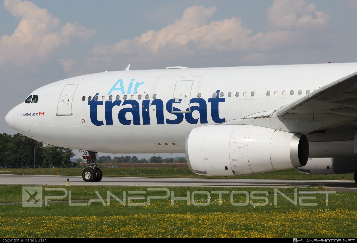 Airbus A330-243 - C-GITS operated by Air Transat #a330 #a330family #airbus #airbus330