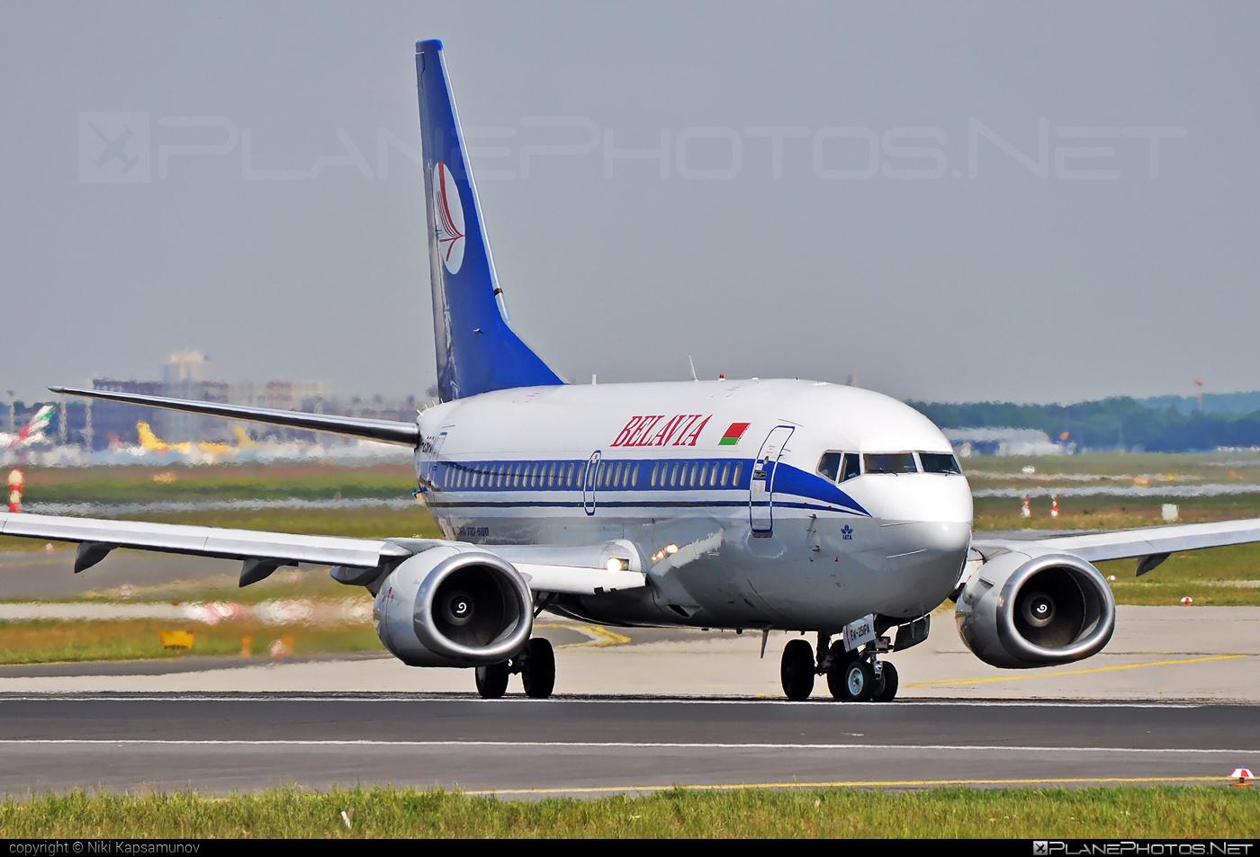 Boeing 737-500 - EW-251PA operated by Belavia Belarusian Airlines #b737 #belavia #boeing #boeing737