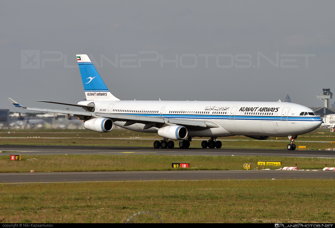 Airbus A340-313 - 9K-AND operated by Kuwait Airways #a340 #a340family #airbus #airbus340