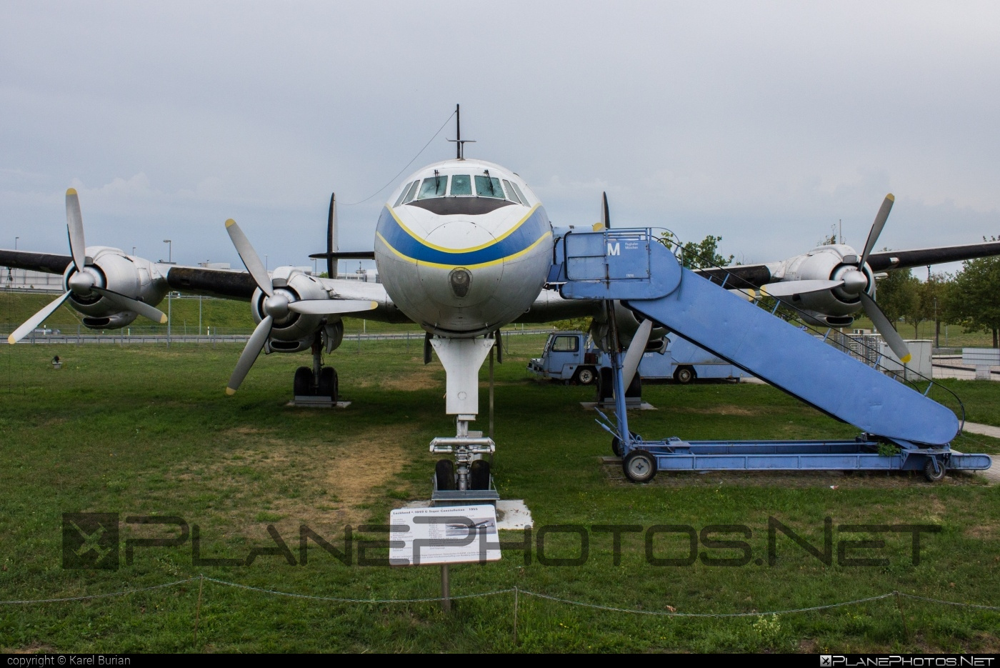 Lockheed L-1049G Super Constellation - D-ALEM operated by Lufthansa #lockheed #lufthansa