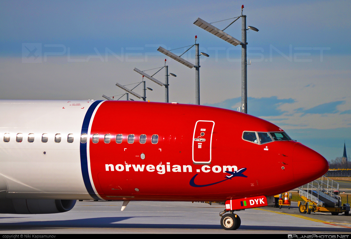 Boeing 737-800 - LN-DYK operated by Norwegian Air Shuttle #b737 #b737nextgen #b737ng #boeing #boeing737 #norwegian #norwegianair #norwegianairshuttle