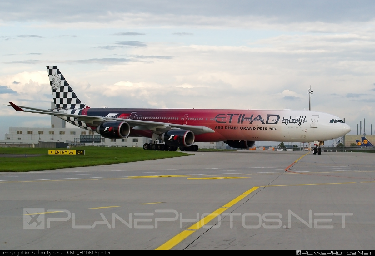 Etihad Airways Airbus A340-642 - A6-EHJ #a340 #a340family #airbus