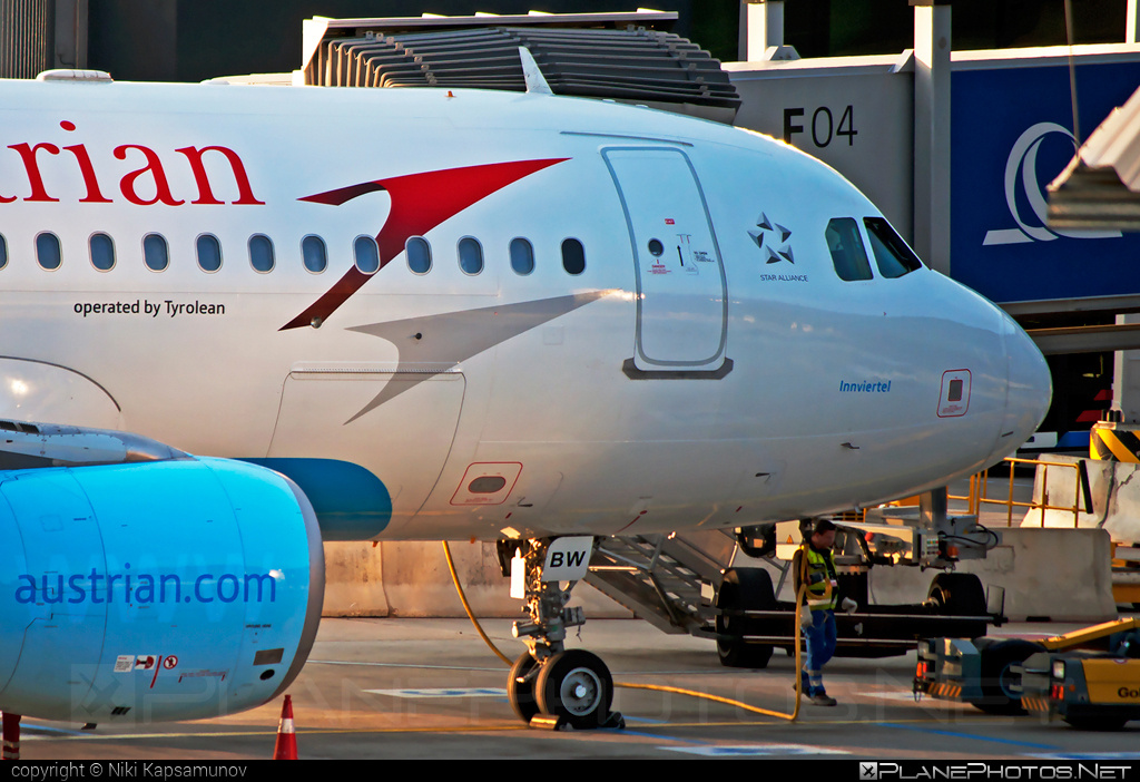 Airbus A320-214 - OE-LBW operated by Austrian Airlines #a320 #a320family #airbus #airbus320