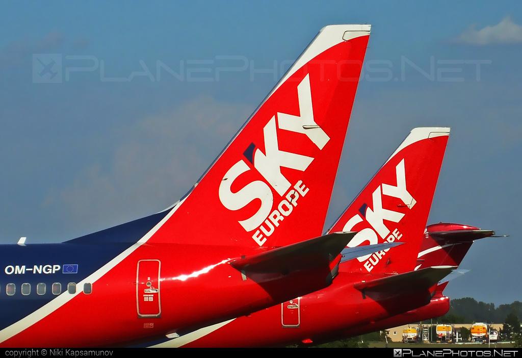 Boeing 737-700 - OM-NGP operated by SkyEurope Airlines #b737 #b737nextgen #b737ng #boeing #boeing737