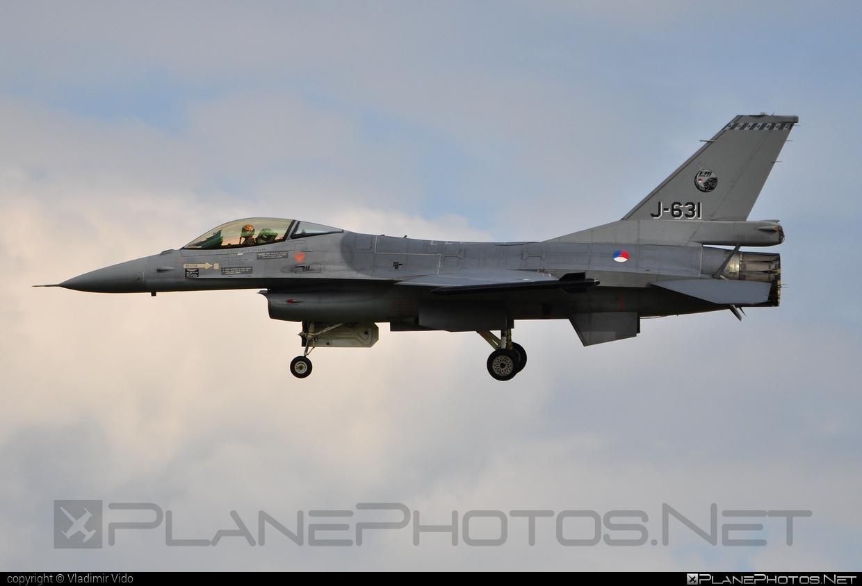 Fokker F-16AM Fighting Falcon - J-631 operated by Koninklijke Luchtmacht (Royal Netherlands Air Force) #f16 #f16am #fightingfalcon #fokker #koninklijkeluchtmacht #royalnetherlandsairforce