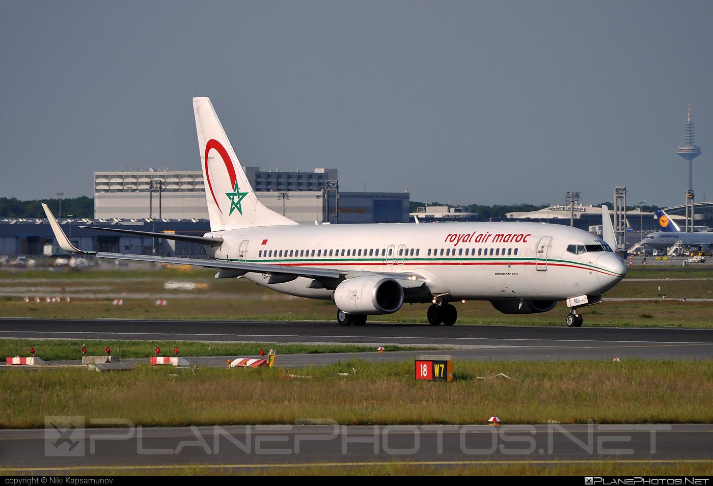 Royal Air Maroc (RAM) Boeing 737-800 - CN-RNU #b737 #b737nextgen #b737ng #boeing #boeing737 #royalairmaroc