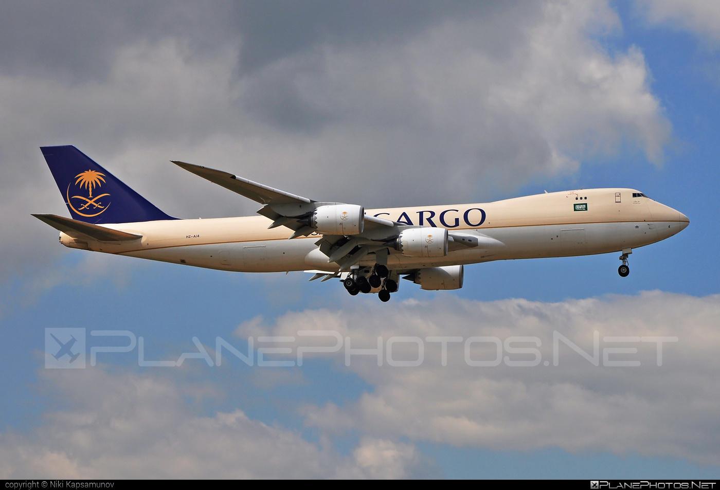 Saudi Arabian Airlines Cargo Boeing 747-8F - HZ-AI4 #b747 #b747f #b747freighter #boeing #boeing747 #jumbo