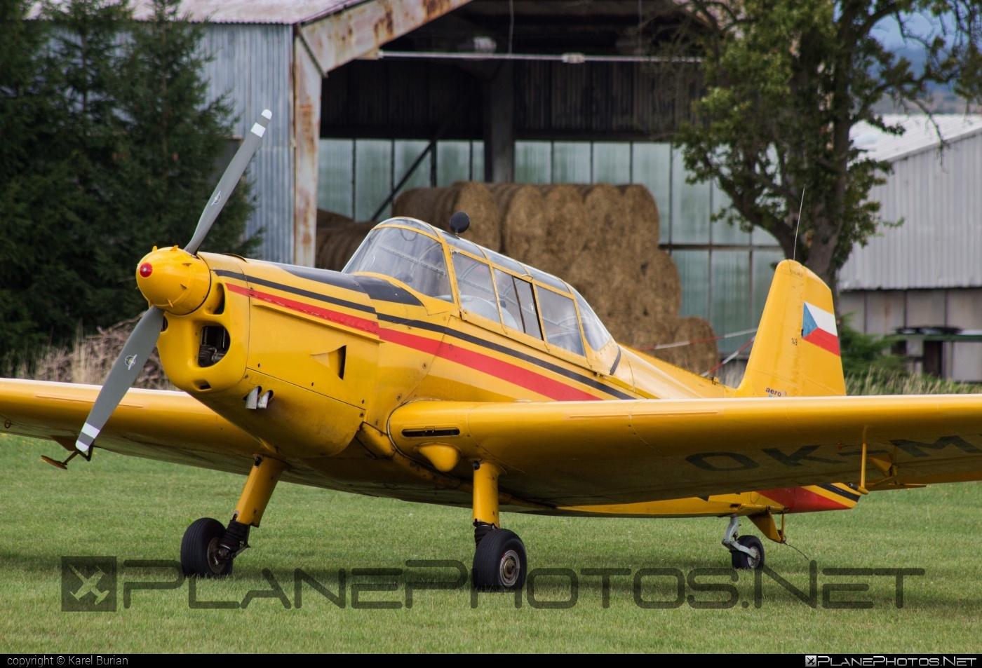 Zlin Z-226MS Trenér - OK-MFE operated by Aeroklub Rakovník #z226 #z226trener #zlin #zlin226 #zlintrener