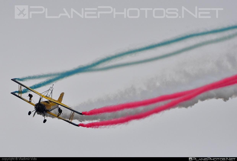 Grumman G-164A Ag Cat - SE-KXR operated by Scandinavian Airshow #grumman