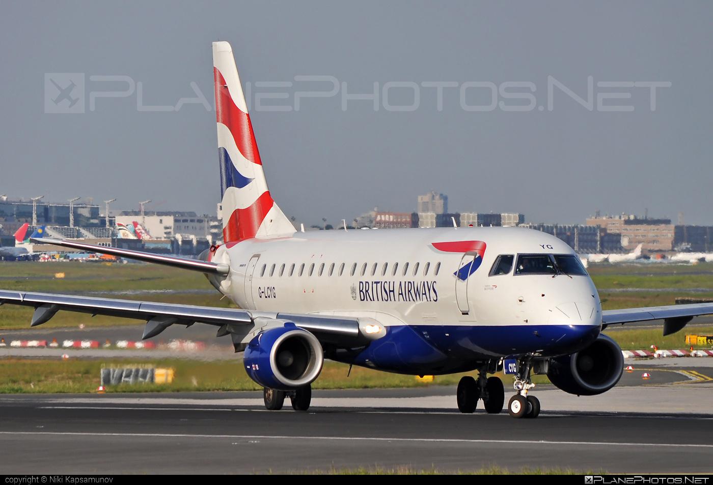 Embraer E170STD (ERJ-170-100STD) - G-LCYG operated by BA CityFlyer #e170 #embraer #embraer170 #embraer170std #erj170 #erj170100 #erj170100std #erj170std