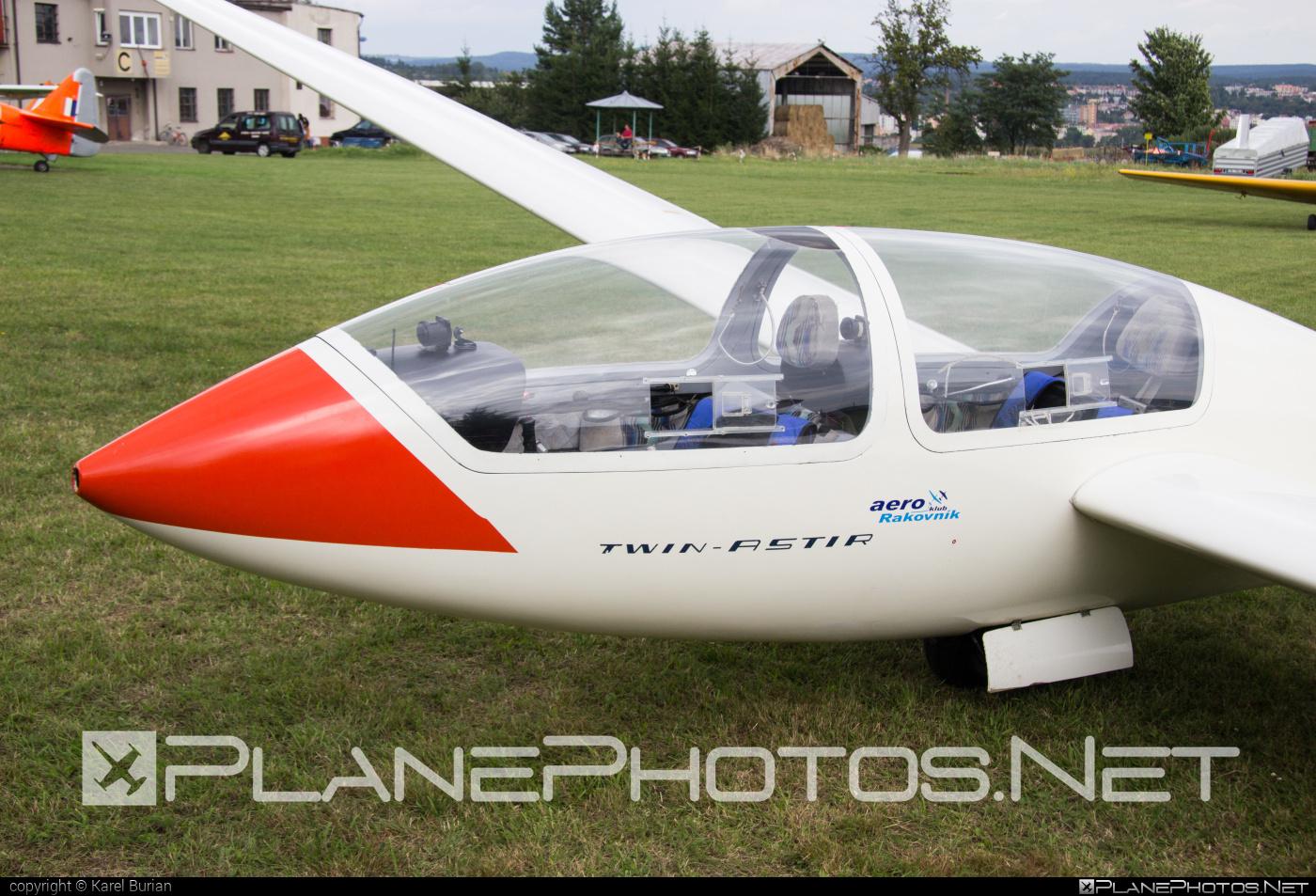 Grob G 103 Twin Astir - OK-2222 operated by Aeroklub Rakovník #grob