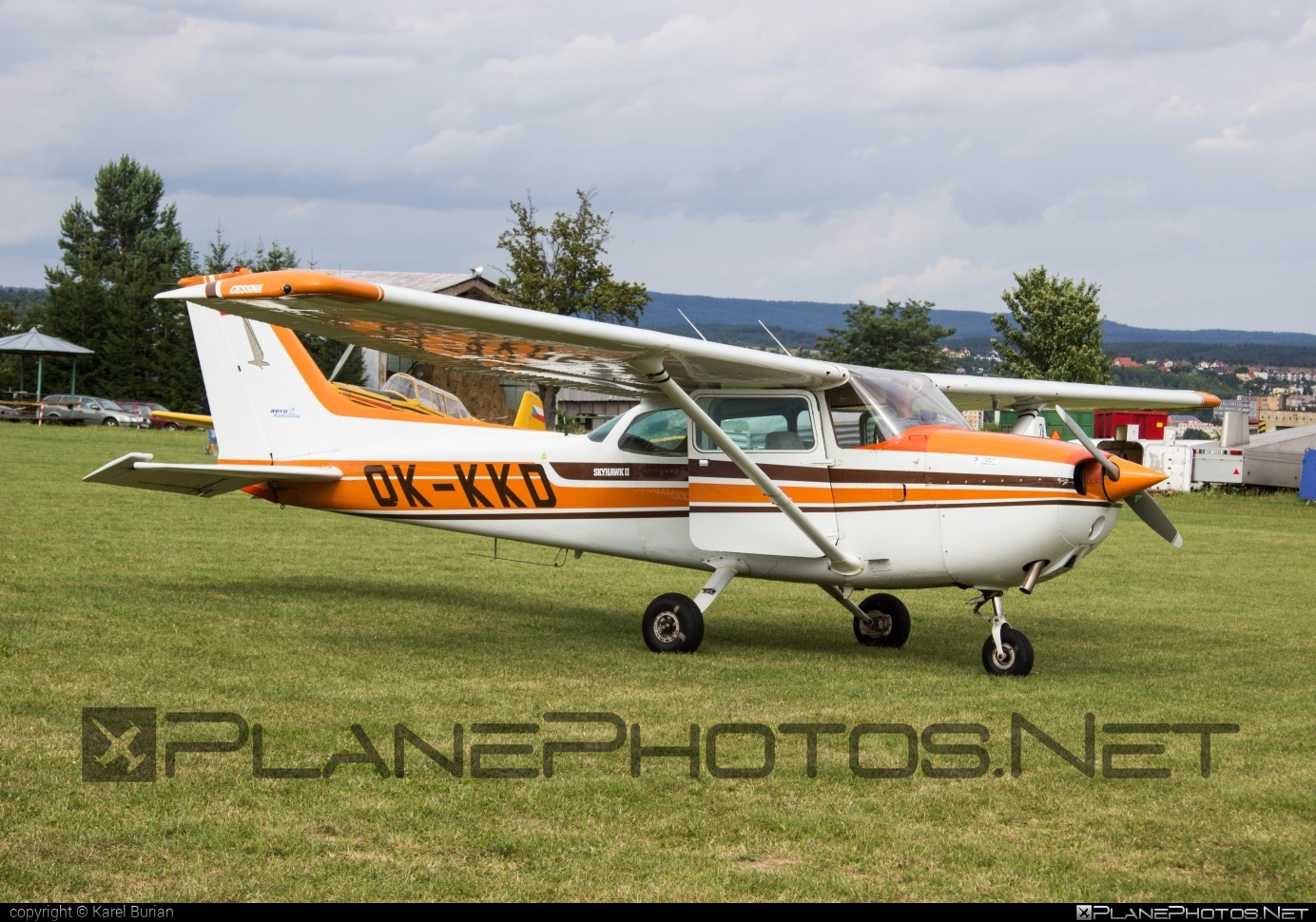Cessna 172N Skyhawk II - OK-KKD operated by Aeroklub Rakovník #cessna #cessna172 #cessna172n #cessna172nskyhawk #cessna172skyhawk #cessnaskyhawk