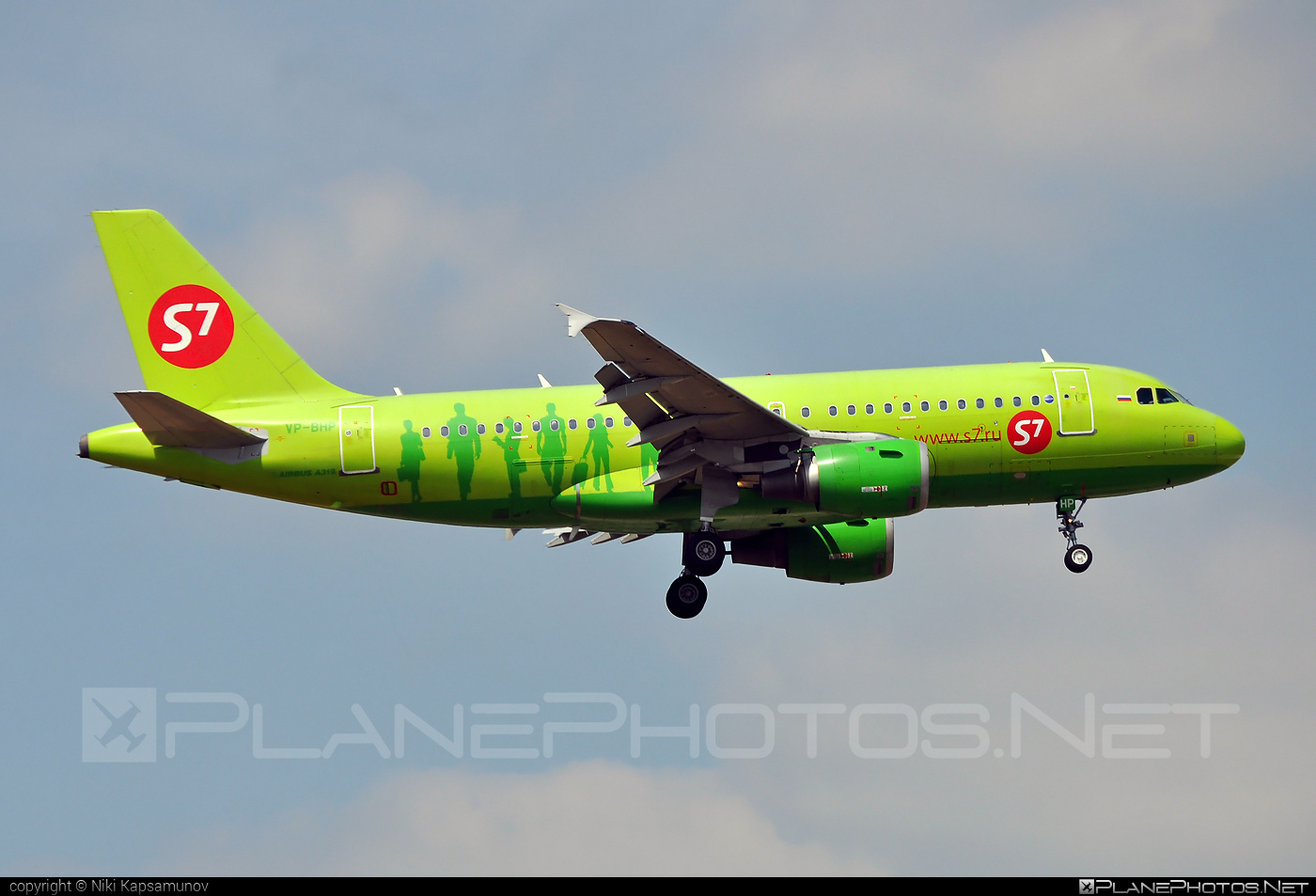 Airbus A319-114 - VP-BHP operated by S7 Airlines #a319 #a320family #airbus #airbus319