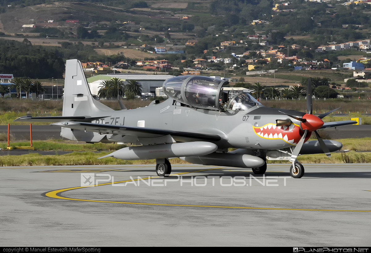 Embraer A-29B Super Tucano - PT-ZEJ operated by Embraer #embraer #supertucano